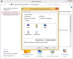 afficher les icones du bureau bureau de windows et raccourcis aidewindows
