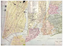 A Map Of New York City by New York City Map 1923 Philatelic Database