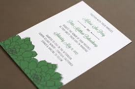 Succulent Wedding Invitations Wedding Invitation 640px
