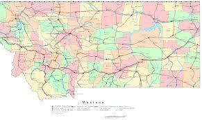 Lexington Zip Code Map Montana State Usa Vector Map Isolated Stock Vector 309561980