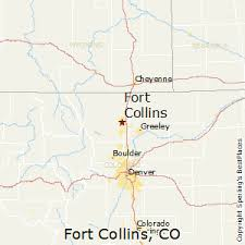 colorado population map best places to live in fort collins colorado