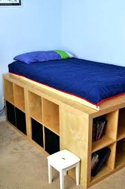 Build Bed Frame With Storage Build A Bed Frame With Storage Clever Storage Bed Frame Simple Bed