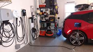 the electric bmw i3 chargepoint home connected ev charging with