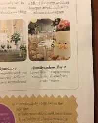 wedding flowers and accessories magazine wedding flowers and accessories magazine april 2016 emily me