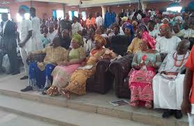 thanksgiving service held in honor of chief ibori at