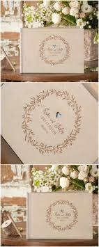 engravable guest book custom wood wedding guest book horizontal landscape guestbook