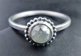minimalist engagement ring cut chaign engagement ring sterling silver