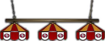 49ers pool table felt san francisco 49ers 3 shade pool table light ozone billiards