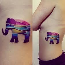 cool elephants tattoo idea tattoomagz