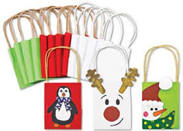 christmas paper bags decorate your own christmas paper bags this season to make your
