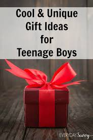 and unique gift ideas for boys
