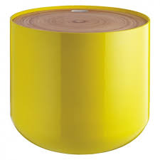 lovable habitat bumble side table with blyth yellow storage side