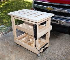 rolling work table plans 26 elegant portable woodworking bench plans egorlin com