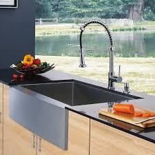 kitchen sink with faucet set vigo all in one 30 camden stainless steel farmhouse kitchen sink