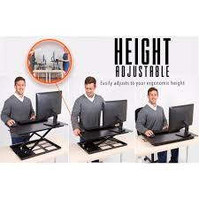 x elite one level series sit stand desks stand steady