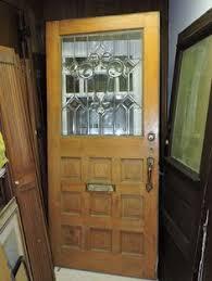 32x78 Exterior Door 32 X 78 Antique Interior Exterior Oak Swinging Door