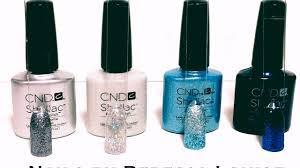 cnd shellac winter colour combinations youtube