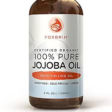 foxbrim 100 pure jojoba oil isn t your typical make up remover but jojoba oil is a natural plant derivative that is chemically very similar to human skin