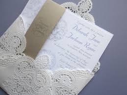 wedding invitations lace lace wedding invitations elite wedding looks