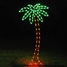 palm tree with christmas lights christmas lights decoration