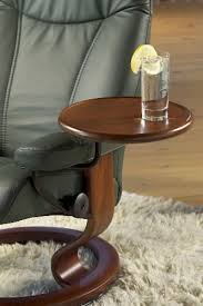 stressless swing side table and accessories for your ekornes