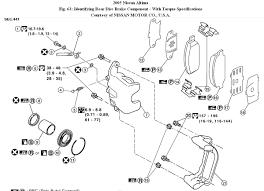 nissan altima 2005 brake fluid rear brake pads how to change rear brake pads