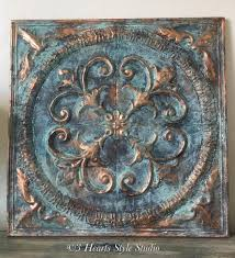 beautiful home decor accent tile patinated by 3 hearts style with