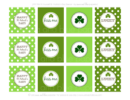 anna and blue paperie free printable happy st patrick u0027s day
