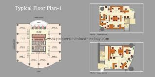 business bay floor plans gallery