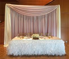 table skirts make your head table stand out at your next event