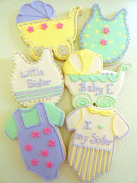pink little cake pastel baby shower cookies tutorial