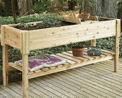 herb garden planter highland raised garden planter 150cm long wooden herb garden
