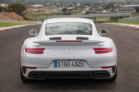 porsche 911 turbo s 2017 2017 porsche 911 turbo s rear design at nuevofence com