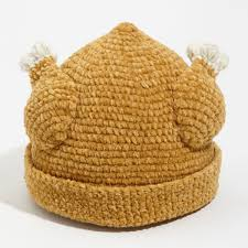 the knitted turkey hat thanksgiving isn t complete without it