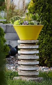 Plant Pedestal 35 Beautiful Container Gardens Midwest Living