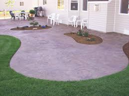 Small Concrete Patio Design Ideas Concrete Patio Ideas For - Concrete backyard design ideas