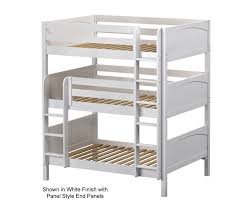 Maxtrix TRIPLEX Full Triple Bunk Bed Bed Frames Matrix Furniture - Maxtrix bunk bed