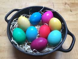 easter egg dyes eggs to dye for science friday