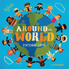around the world matching chronicle books