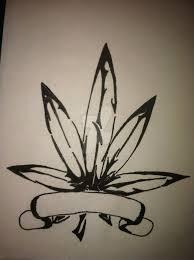 pot leaf tattoo by mandimambo on deviantart