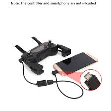 type c micro usb lighting to usb otg cable data line for dji spark