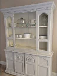 hutch in gf u0027s seagull gray and antique white milk paints general