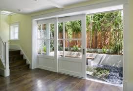 glass door magnificent three panel sliding glass patio doors