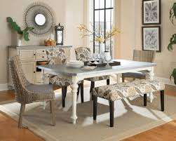 tile in dining room cottage dining room glass chrome polishes dining table base white
