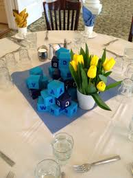 simple table decorations simple table decorations baby shower