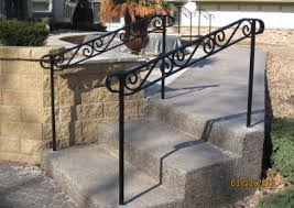 exterior step railings o u0027brien ornamental iron