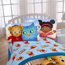 Tiger Comforter Set Disney Daniel Tiger Treehouse Pals 3 Piece Sheet Set U0026 Reviews