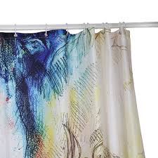 aliexpress com buy abstract painting curtain waterproof printing