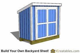 Diy Lean To Storage Shed Plans by 4x8 Shed Plans 4x8 Storage Shed Plans Icreatables Com