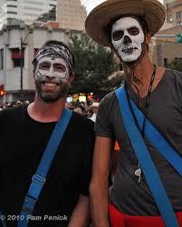 Bearded Halloween Costume Dead Makeup Men Beard Bearded Skeleton Mark
